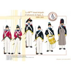 The 88th demi-brigade of infantry line (2), 1800-1801
