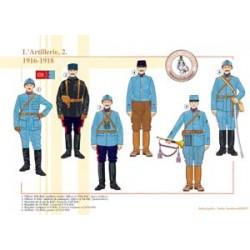 L'Artillerie française (2), 1916-1918