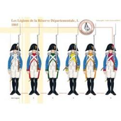 Les Légions de la Réserve Départementale (1), 1805