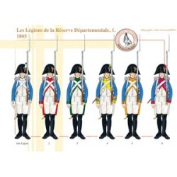 The Legions of the Departmental Reserve (1), 1805