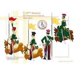 Le 30ème Régiment de Chasseurs à Cheval, 1810-1812