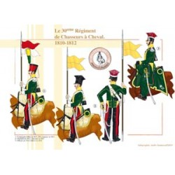 The 30th Regiment of Chasseurs à Cheval, 1810-1812