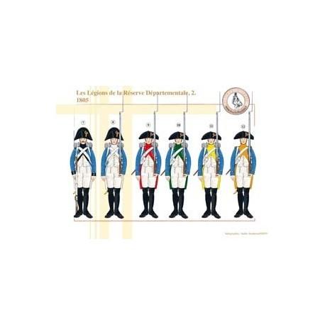 Les Légions de la Réserve Départementale (2), 1805