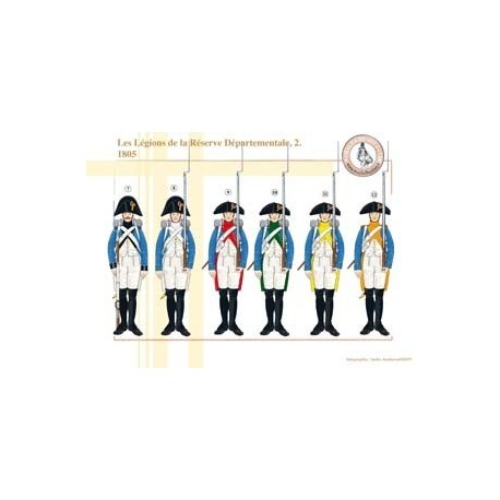 The Legions of the Departmental Reserve (2), 1805
