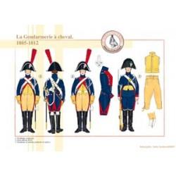 Die berittene Gendarmerie, 1805-1812