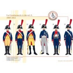 Die berittene Gendarmerie (2), 1805-1812