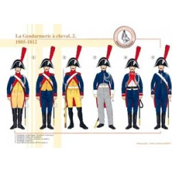 The mounted Gendarmerie (2), 1805-1812