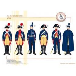 Die französische Gendarmerie, 1798