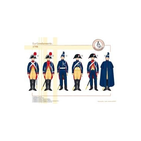The French Gendarmerie, 1798