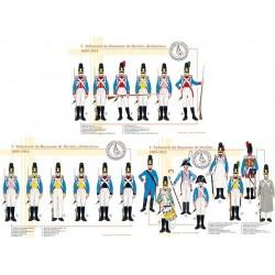 L'Infanterie du Royaume de Bavière, 1809-1814
