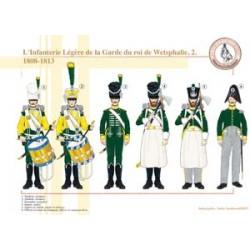 Die leichte Infanterie der Wache des Königs von Westfalen (2), 1808-1813