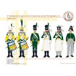 The Light Infantry of the Guard of the King of Westphalia (2), 1808-1813