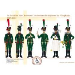 Das Gewehrkarabiner-Bataillon des Königreichs Westfalen, 1807-1812