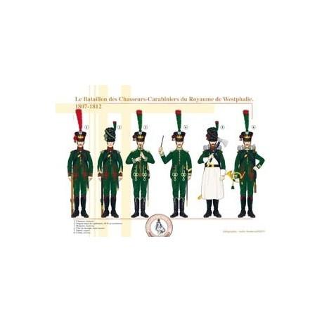 Le Bataillon des Chasseurs-Carabiniers du Royaume de Westphalie, 1807-1812