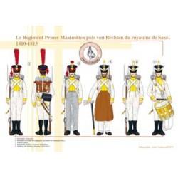 Regiment Prinz Maximilian, dann von Rechten des Königreichs Sachsen, 1810-1813