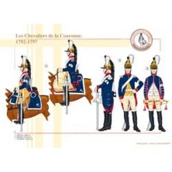 Les Chevaliers de la Couronne, 1792-1797
