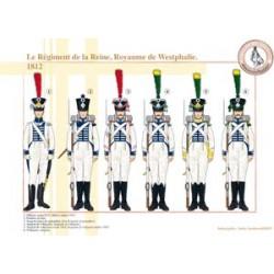 Das Regiment der Königin, Königreich Westfalen, 1812