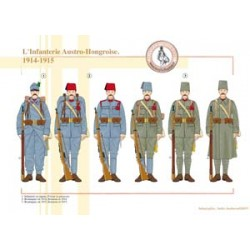 Die österreichisch-ungarische Infanterie, 1914-1915