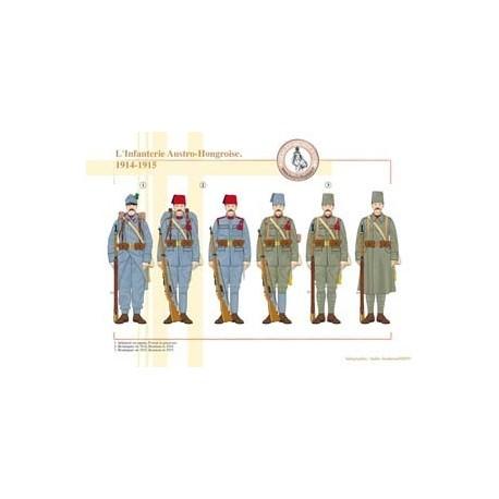 L'Infanterie Austro-Hongroise, 1914-1914