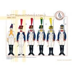 Das 27. Linieninfanterieregiment (3), 1806-1812