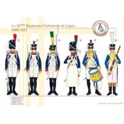 Das 42. französische Linieninfanterieregiment, 1808-1812