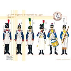 The 42nd French Line Infantry Regiment, 1808-1812