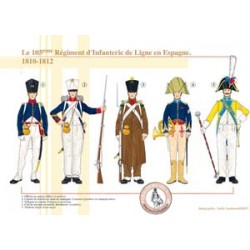 The 105th Line Infantry Regiment in Spain, 1810-1812