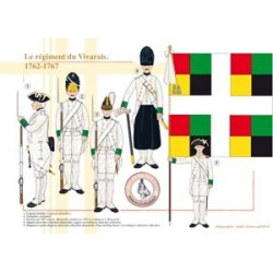 Das Vivarais-Regiment, 1762-1767
