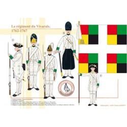 Le régiment du Vivarais, 1762-1767