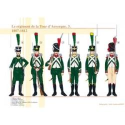 Das Tour d'Auvergne-Regiment (3), 1807-1812