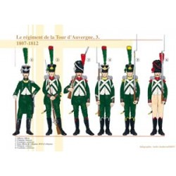 The Tour d'Auvergne regiment (3), 1807-1812