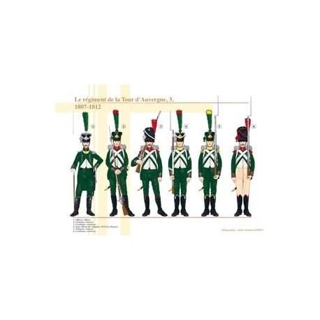 The Tour d'Auvergne regiment (3), 1807-1812