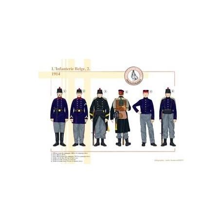Belgian Infantry (2), 1914