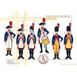 Wächter der Konvention, 1792-1795