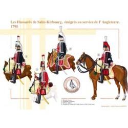 Les Hussards de Salm-Kirbourg, émigrés français au service de l'Angleterre, 1795