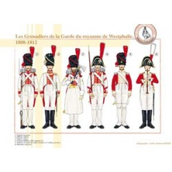 Grenadiers of the Guard of the kingdom of Westphalia, 1808-1812