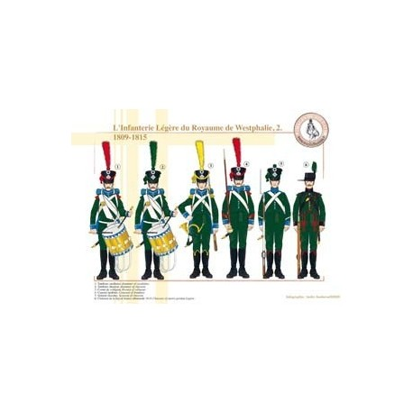 Light Infantry of the Kingdom of Westphalia (2), 1809-1815