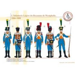 Leichte Infanterie des Königreichs Westfalen, 1806-1808