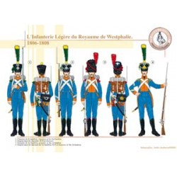 Light Infantry of the Kingdom of Westphalia, 1806-1808
