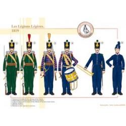 Les Légions Légères, 1819