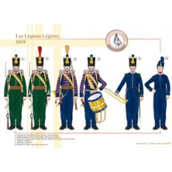 The French Light Legions, 1819