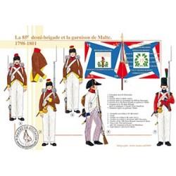 La 85ème demi-brigade de ligne et la garnison de Malte, 1798-1801