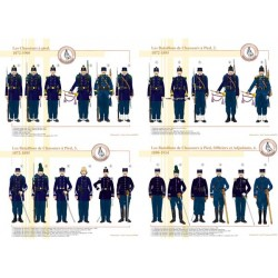 Die Bataillone der Chasseurs à pied, 1872-1914