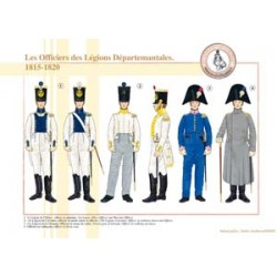 Officers of the French Departmental Legions, 1815-1820