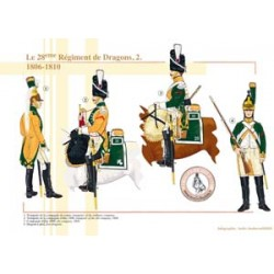 Le 28e Régiment de Dragons (2), 1806-1810