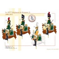 Das 29. französische Drachenregiment (2), 1806-1812