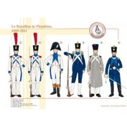 Das Piombino-Bataillon, 1805-1811