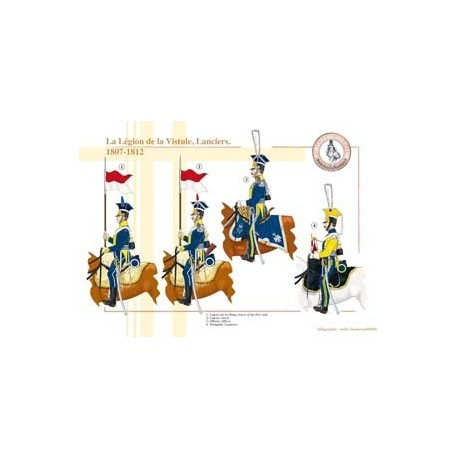 The Legion of the Vistula, Lancers, 1807-1812