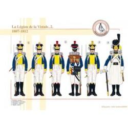 La Légion de la Vistule (2), 1807-1812