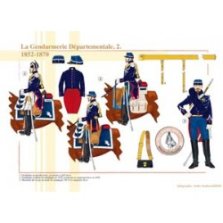 The French Departmental Gendarmerie (2), 1852-1870